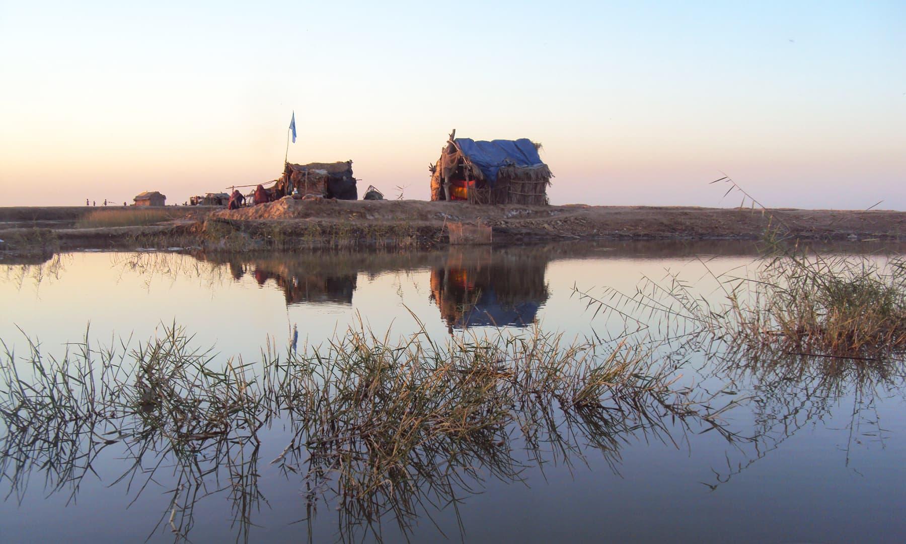نریڑی جھیل—تصویر ابوبکر شیخ