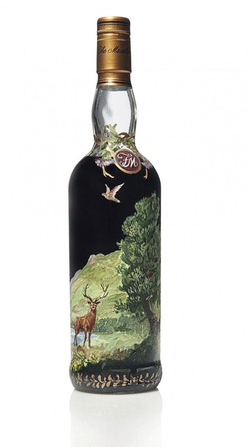 بوتل کا ڈیزائن انتہائی دیدہ زیب ہے—فوٹو: فوربز