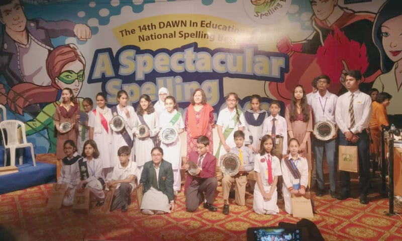 DAWN Spelling Bee 2018: National Championship - Newspaper