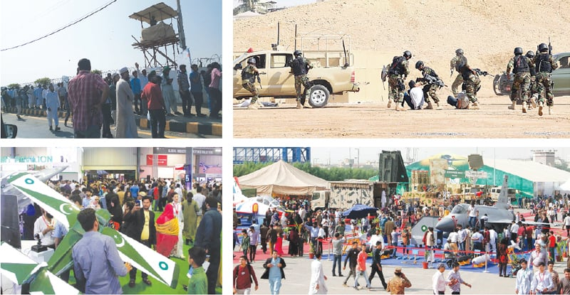 Defence expo attracts large crowds on final day - Pakistan - DAWN COM