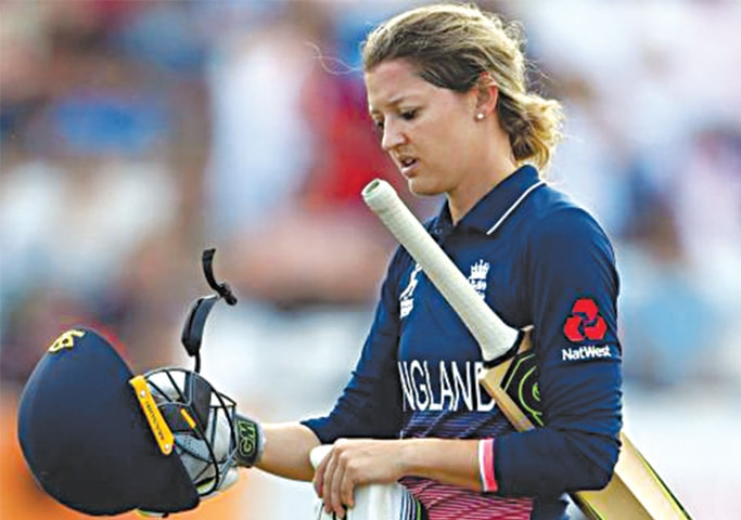 Sarah Taylor: one of the few cricketers to publicly acknowledge her mental issues