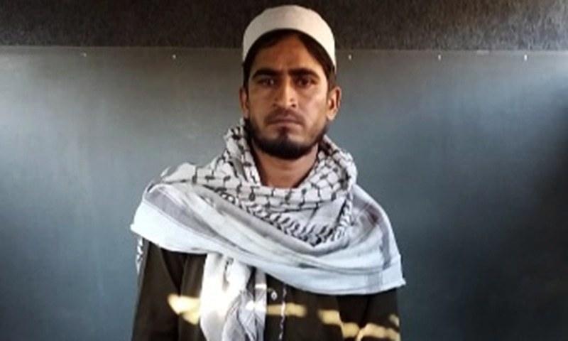 کم عمر لڑکی کے ریپ اور قتل کا مجرم محمد بلال — فوٹو: سراج الدین