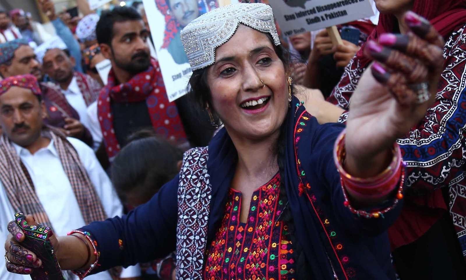 سندھ  دھرتی ثقافتی ورثے سے مالامال ہے—فوٹو: وقاص علی