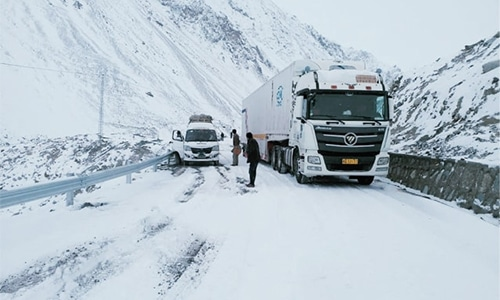 Khunjerab Pass closed for four months