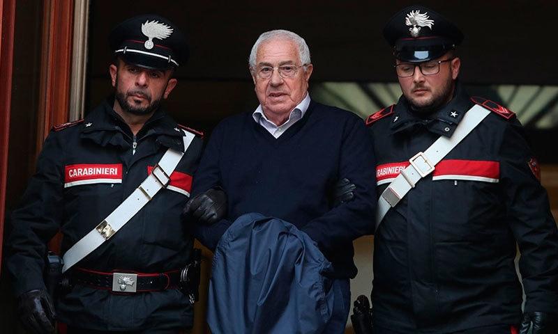 پولیس کے مطابق سیتیمو مینیو سمیت 46 افراد کو گرفتار کیا گیا—فوٹو:اے پی