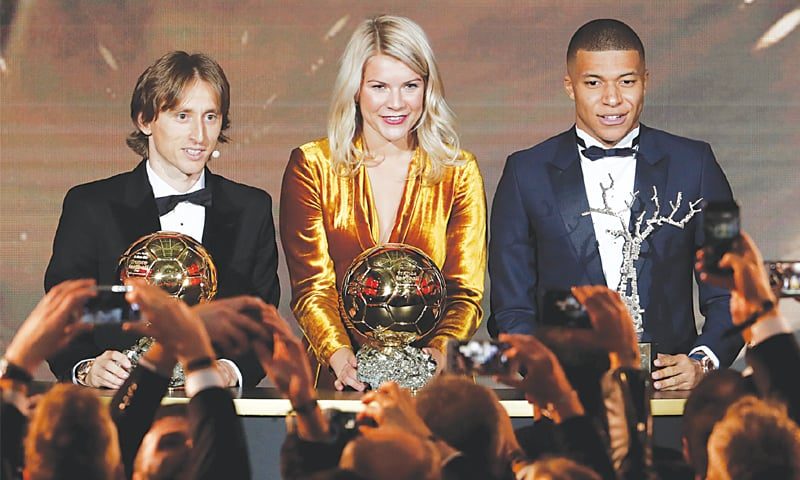 Modric sees off French stars to win Ballon d'Or