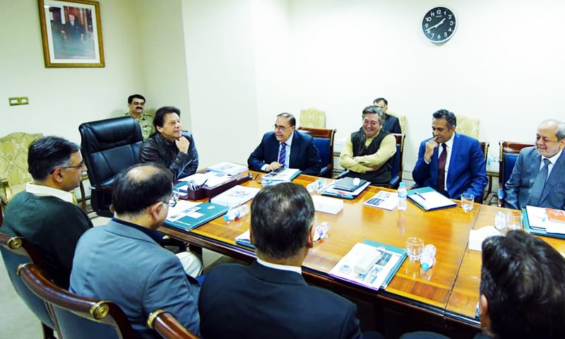 PM Imran Khan acknowledges the importance of Japan as a development and investment partner during a meeting with Japan's NSA Kentaro Sonoura. —PID