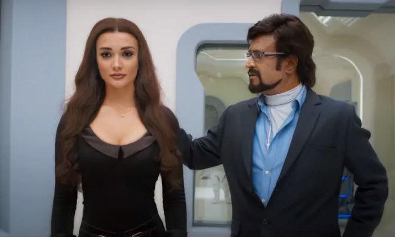 فلم کو ہندی، تامل اور تیلگو زبانوں میں ریلیز کیا گیا—اسکرین شاٹ