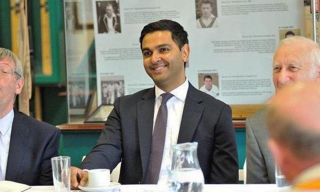Wasim Khan, an MBA from Warwick Business School, is a former professional cricketer with a wealth of experience in cricket and cricket management. —Photo courtesy Leicestershire County