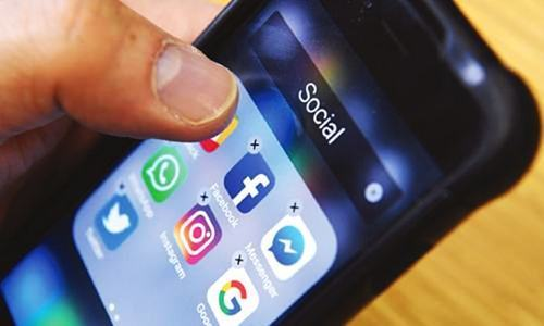 Suspect confesses to have created six fake WhatsApp and two Facebook accounts to malign his ex-spouse. ─ AFP/File