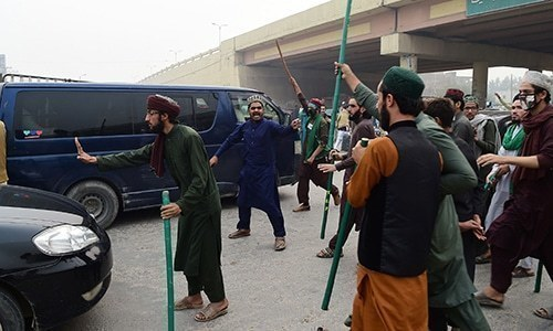 Around 3,000 TLP workers, including its leaders, arrested under charges of sedition and terrorism are still in jail. — File photo