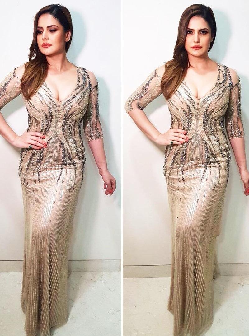 زرین خان نے بولڈ ہارر فلموں  سے شہرت حاصل کی—فوٹو: انسٹاگرام