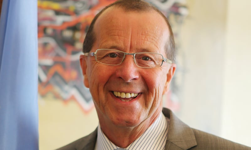 """German giants like Volkswagen and Siemens have shown desire to invest in Pakistan,"" says German Ambassador to Pakistan Martin Kobler. —Photo: Wikimedia Commons"