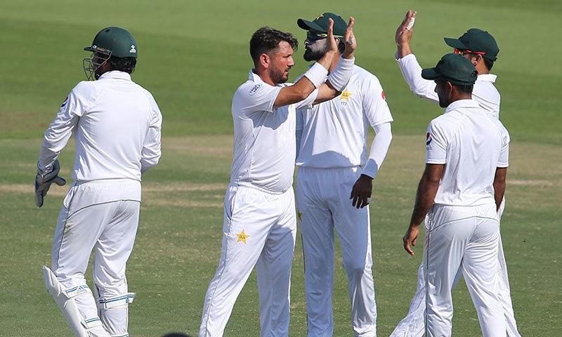 پاکستان اور جنوبی افریقہ کے درمیان پہلا ٹیسٹ میچ 26دسمبر سے کھیلا جائے گا— فوٹو: اے ایف پی