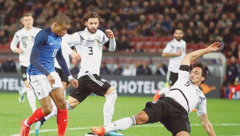 World Cup champions of 2014 Germany and the World Cup champions of 2018 France collided together in the opener of the UEFA Nations League in Munich