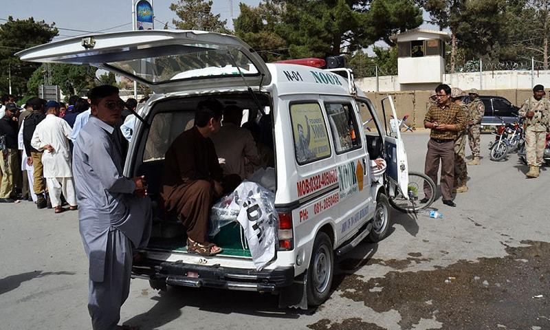 The trio of victims were transferred to the D.G Khan Medical College, where two of them succumbed to their injuries. — File