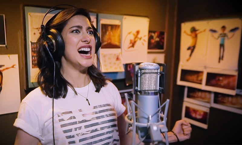 Mehwish Hayat lends her voice to the character of Erma (below) - Photo courtesy: ARY Films