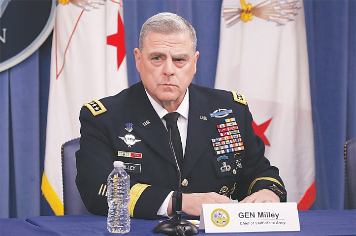President Trump picks Gen. Mark Milley as next top military adviser