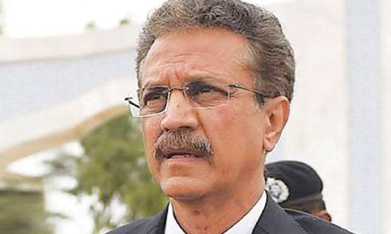 Karachi Mayor Waseem Akhtar.
