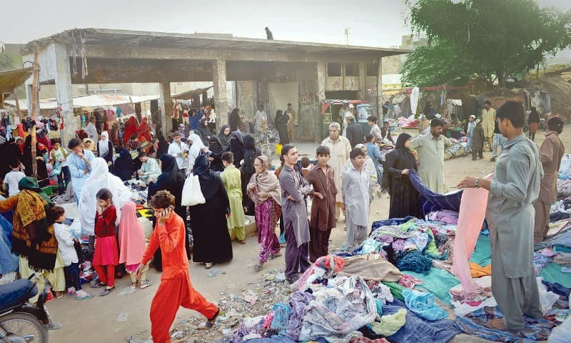 People have been given one day to vacate shops and homes built on encroached land. — File photo