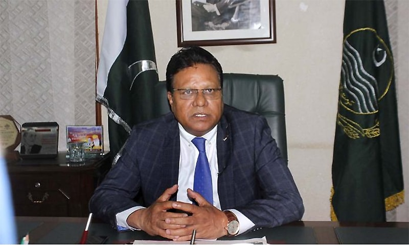 Punjab Minister for Human Rights and Minority Affairs Ijaz Alam Augustine announces a 'Minorities' Empowerment Package'. ─ APP