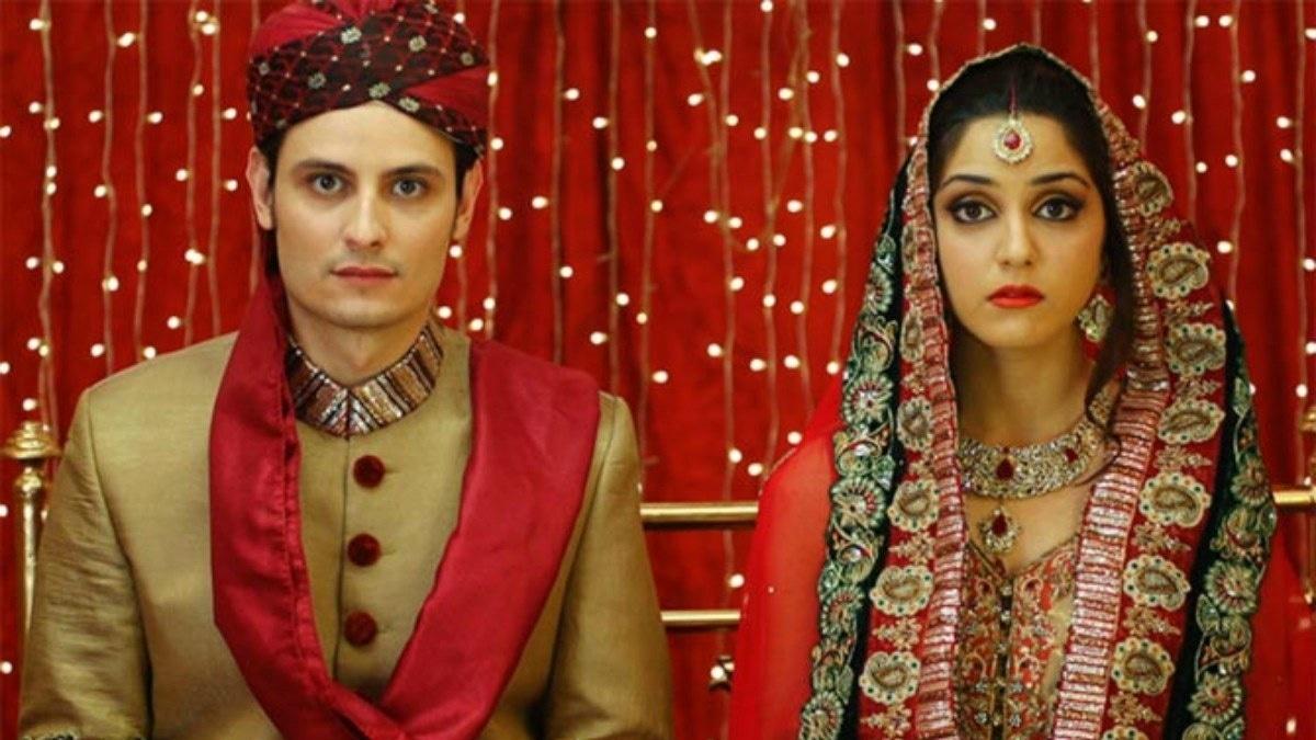 Osman Khalid Butt with Maya Ali in Aunn Zara