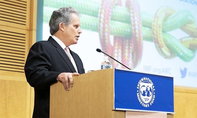 International Monetary Fund Deputy Managing Director David Lipton. ─ Photo courtesy David Lipton Twitter