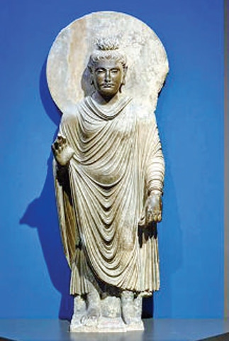 Buddha statue features in Swiss exhibition