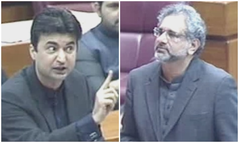 Opposition members ask NAB to arrest all those, including Prime Minister Imran Khan, against whom it was conducting inquiries. ─ DawnNewsTV