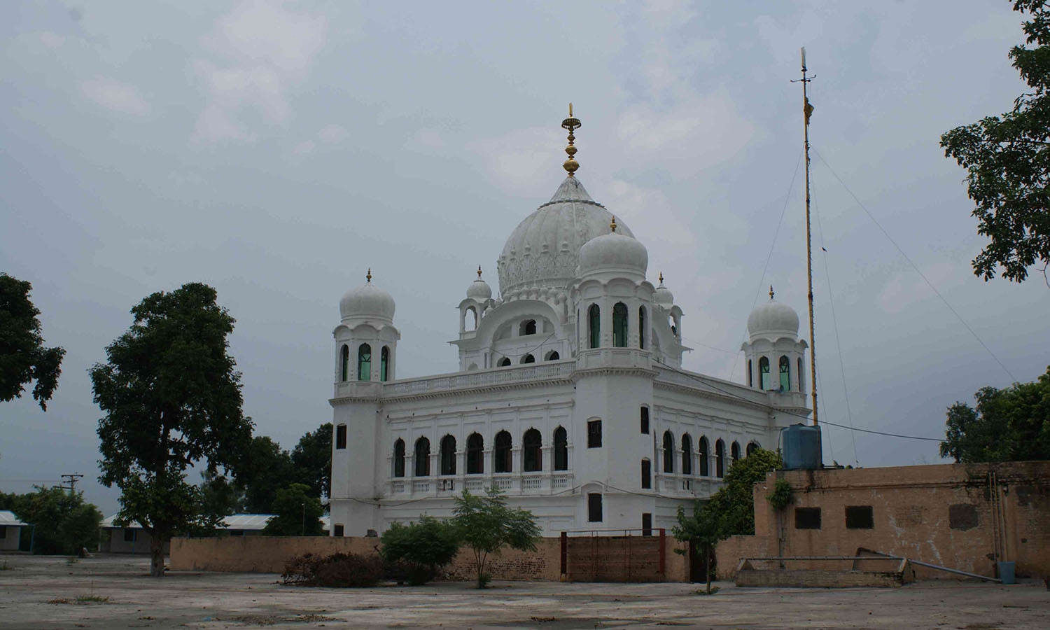 Indian Sikhs may soon get easy passage to the Gurdwara Kartarpur Sahib in Narowal district.—Iqbal Qaiser
