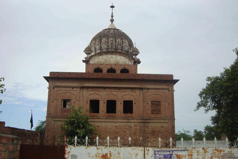 The gurdwara of Guru Hargobind in Padhana village is one of several shrines dedicated to the sixth Sikh guru.