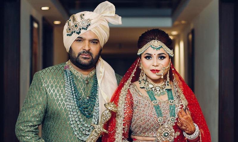 کپل شرما نے 12 دسمبر کی رات شادی کی —فوٹو/ اسکرین شاٹ