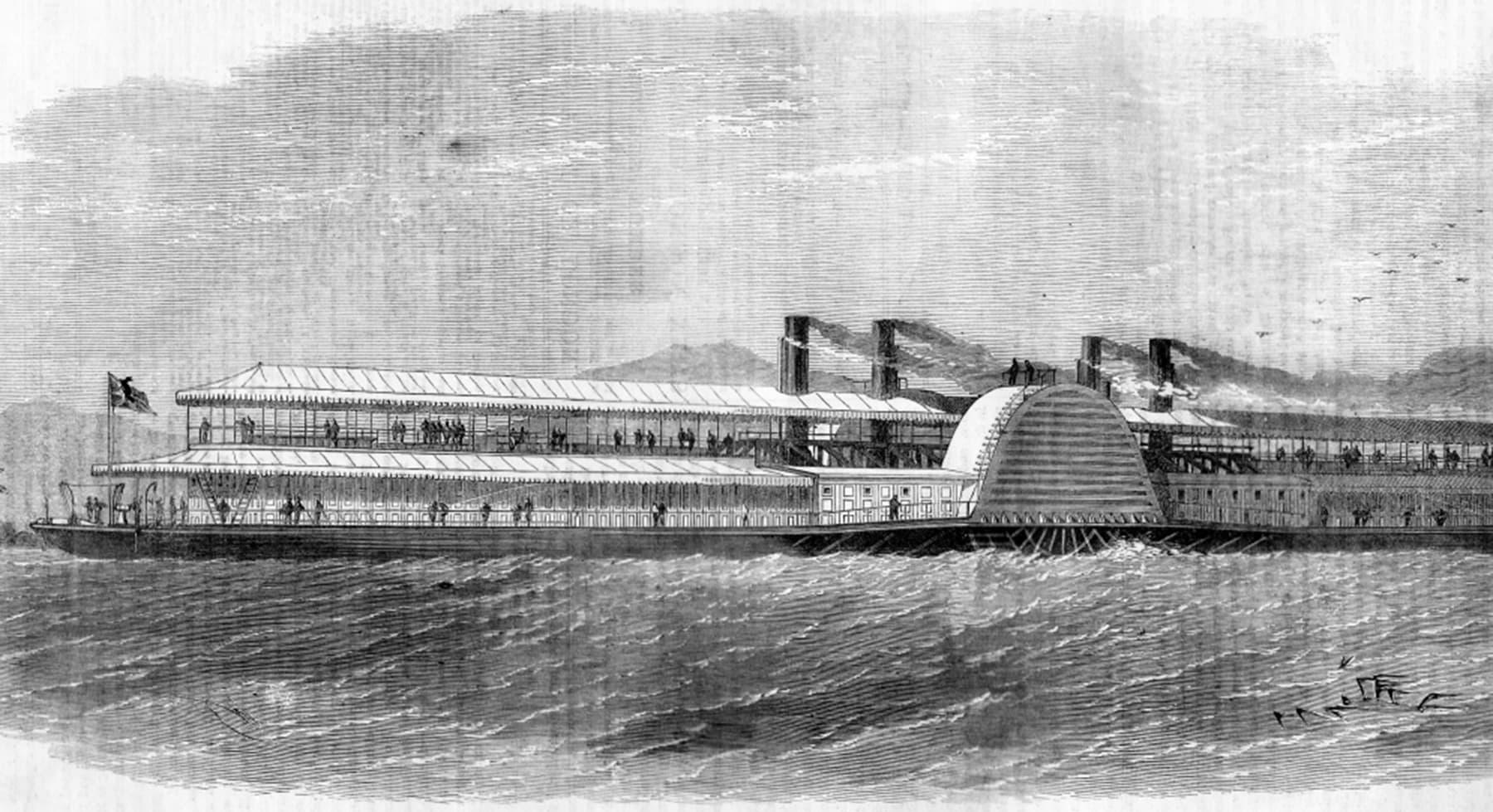انڈس فلوٹیلا جہاز