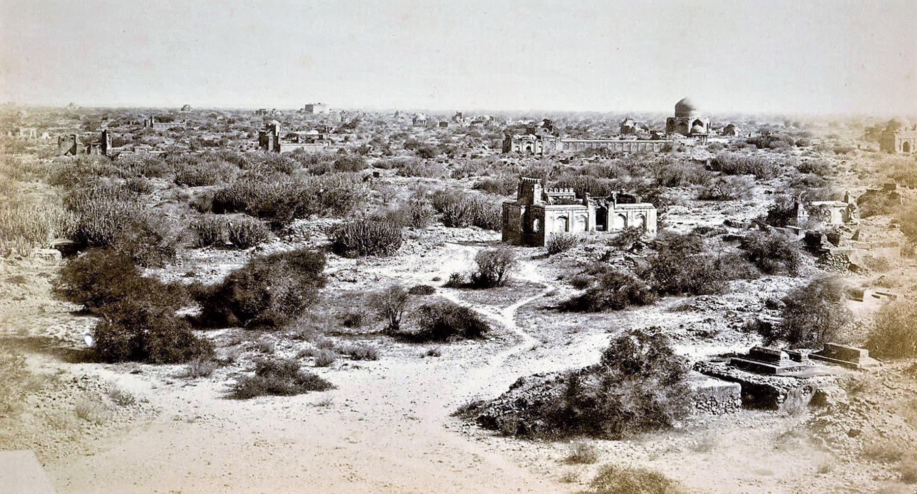 1866ء میں مکلی