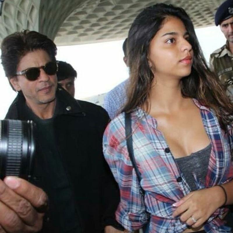 سہانا خان اپنے والد کی فلم زیرو کی اسٹنٹ ڈائریکٹر ہیں—فوٹو: انسٹاگرام