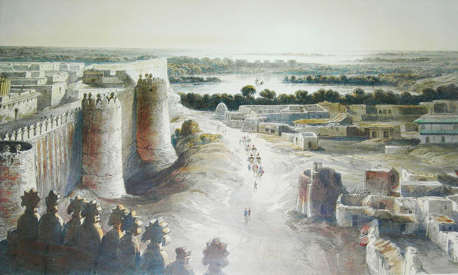 1844ء میں حیدرآباد