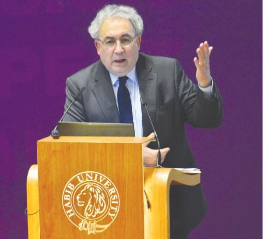 Dr Abbas Amanat.—White Star
