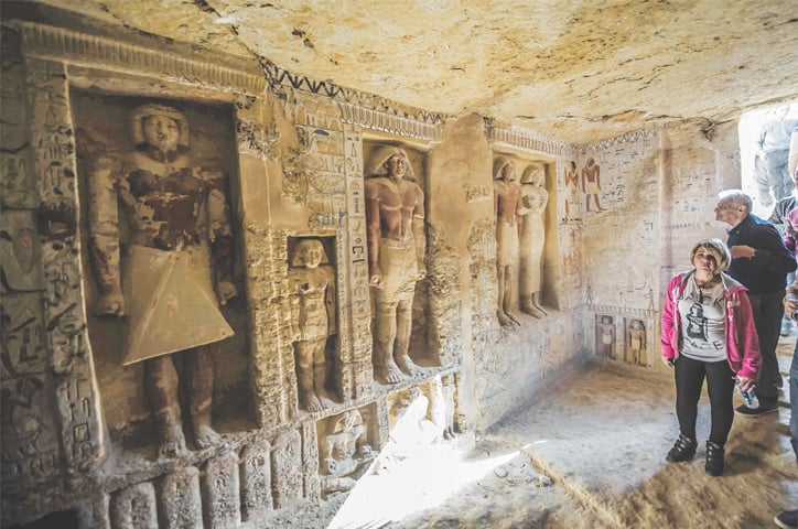 Year Old Tomb Discovered In Egypt