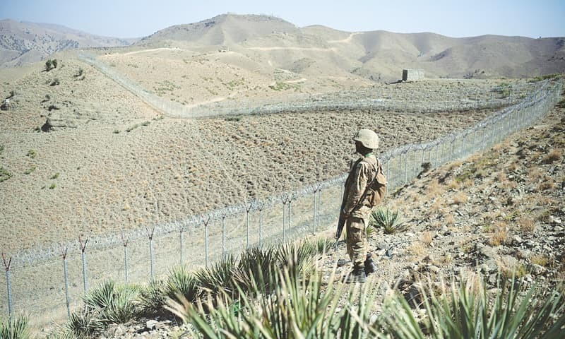 Islamabad believes the border fence could help contain terrorist activities by checking cross-border movement of militant elements. ─ File photo