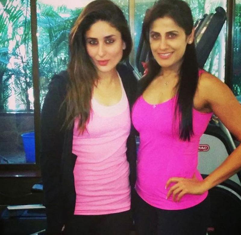 سب سے پہلی کرینہ کپور نے ان سے تربیت لی—فوٹو: یاسمین کراچی والا انسٹاگرام