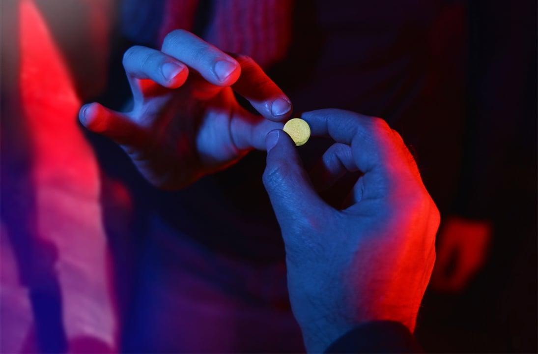 An ecstasy pill | Shutterstock