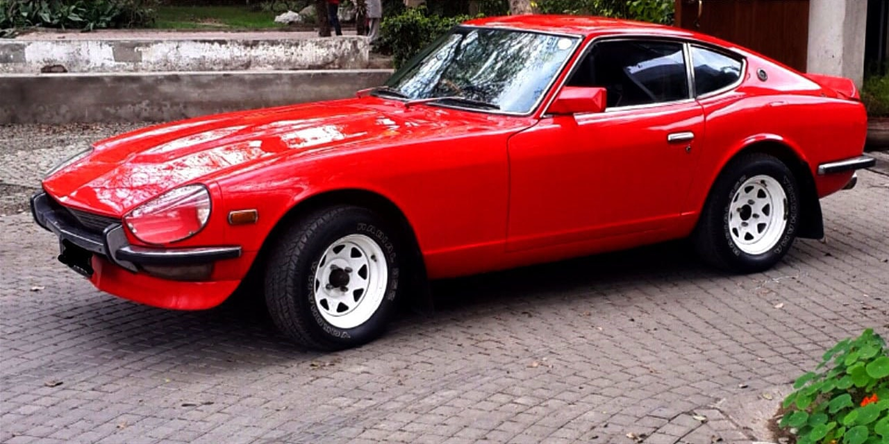 I bought this 1973 Datsun 240Z in 1974 at the age of 28. – All photos by the author