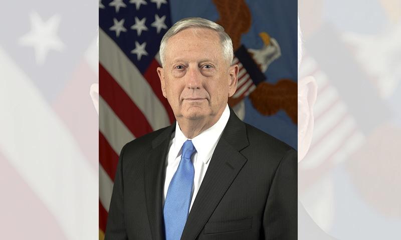 امریکی سیکریٹری دفاع جم میٹس—فوٹو بشکریہ وکیپیڈیا