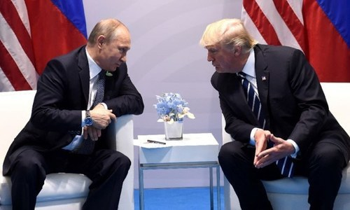 Trump administration notifies Congress of plans to lift sanctions against two Russian firms despite opposition. — File photo