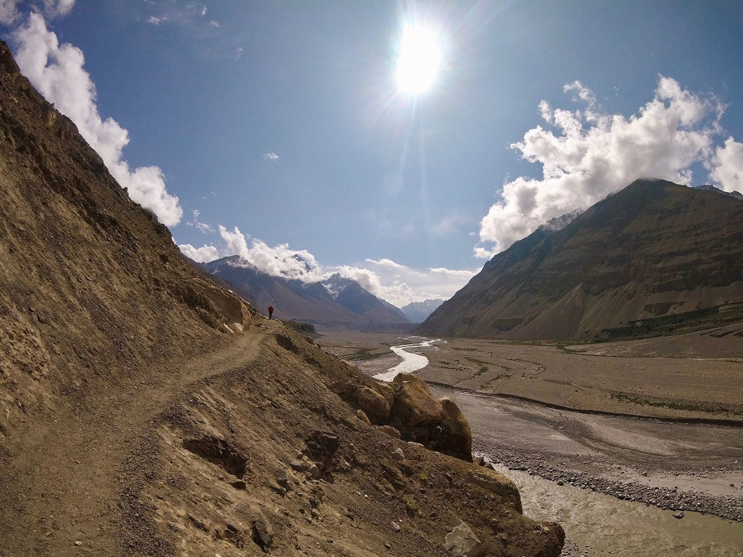 Day 1: Trek out of Shimshal.