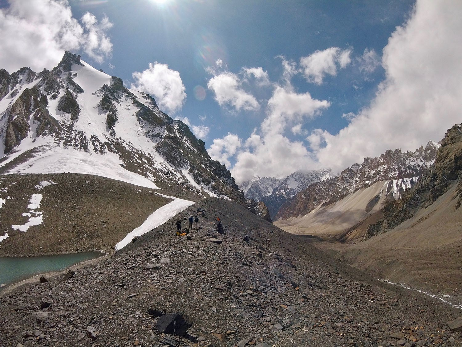 Day 3: Standing on top of Boisam Pass (5,000m).