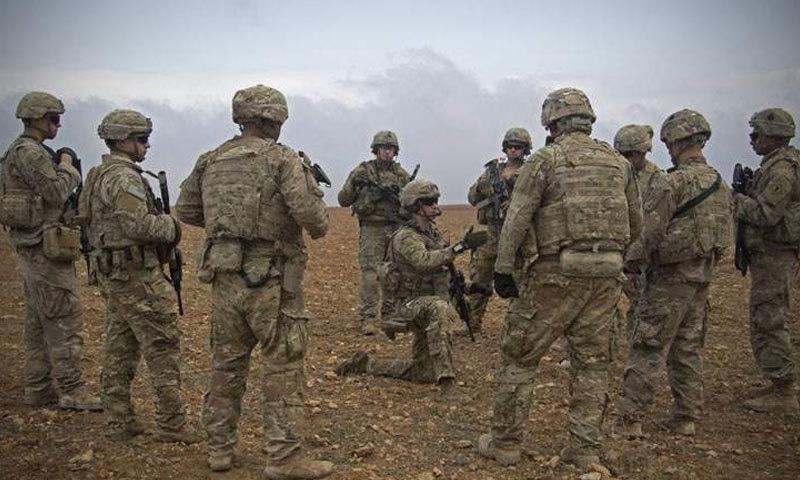 امریکی فورسز — فوٹو : اے پی/ فائل