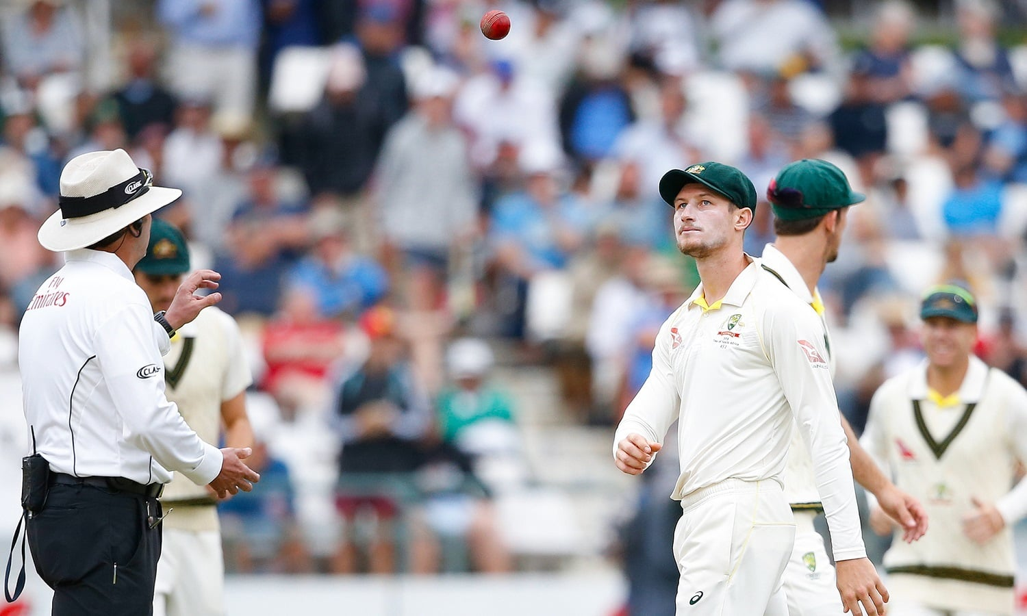 Cameron Bancroft was one of three Australian players banned in a ball-tampering scandal. — AFP