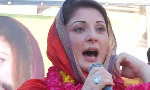 Maryam Nawaz reacts to accountability court's verdict against her father Nawaz Sharif. — File