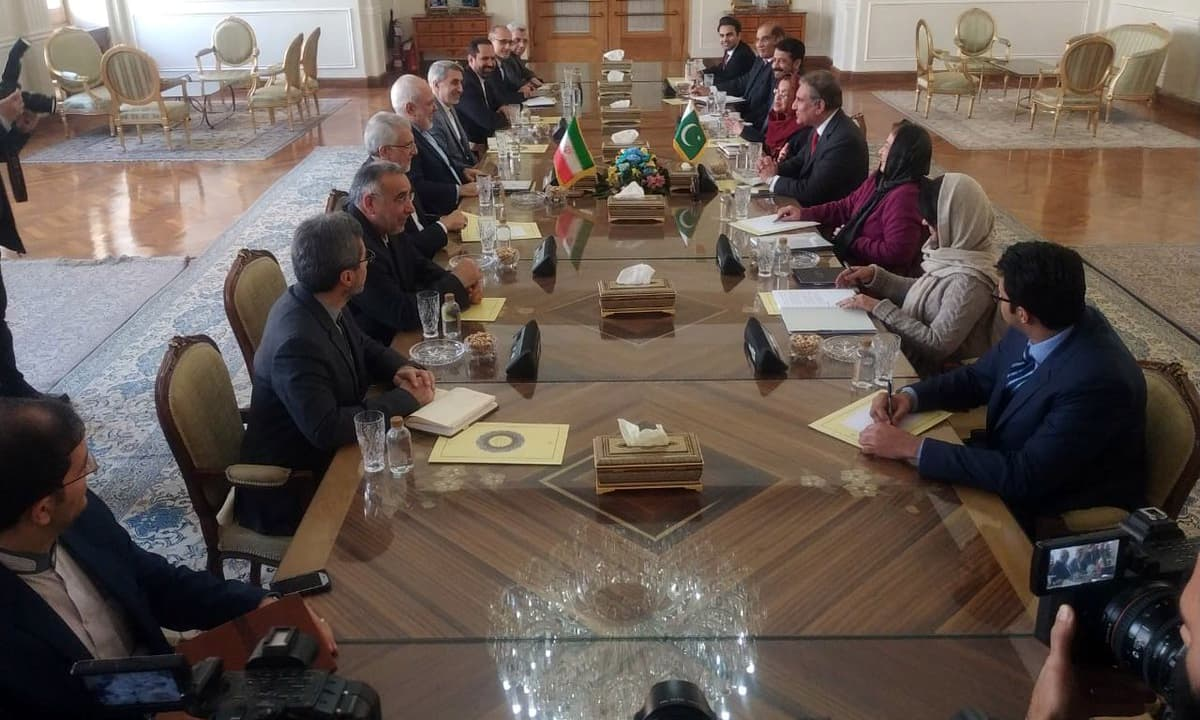 Foreign minister visits Tehran to meet his Iranian counterpart Javad Zarif. —PID